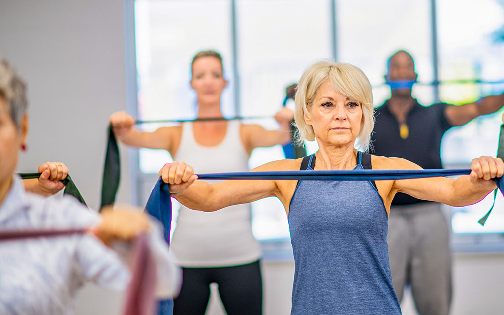 Silver Sneakers Group Fitness Class In Gym Near Me Harmar Township